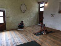 yoga hangdrum session