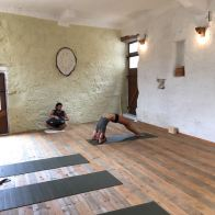 yoga and hangdrum session
